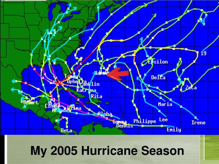 My 2005 Hurricane Season