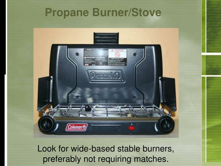 Propane Burner/Stove