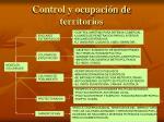 control y ocupaci n de territorios