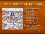 definici n de imperialismo