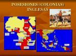 posesiones colonias inglesas