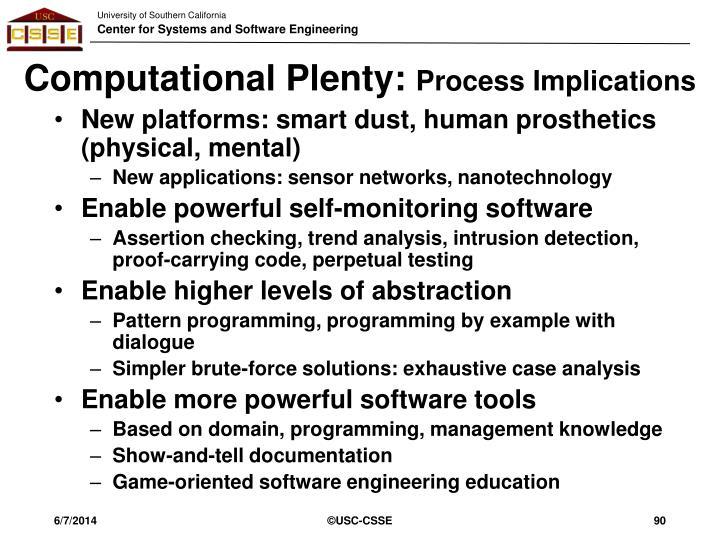 Computational Plenty: