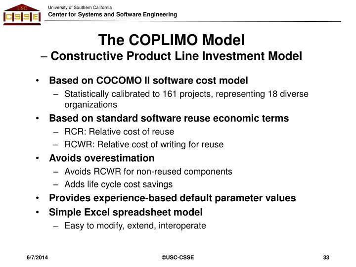 The COPLIMO Model