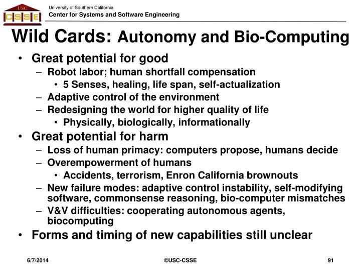 Wild Cards:
