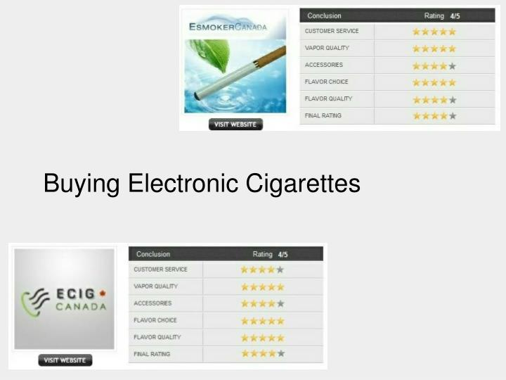 buying electronic cigarettes n.