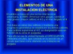 elementos de una instalacion el ctrica21