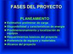 fases del proyecto1