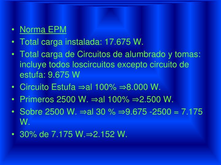 Norma EPM
