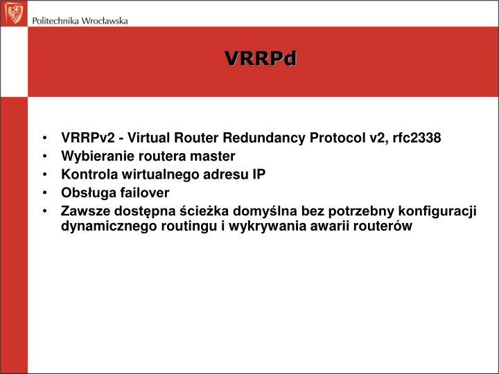 VRRPd