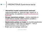 vrednotenje eysenckove teorije