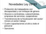 novedades ley 297831