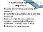 novedades proyecto de reglamento2