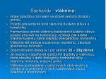 sacharidy vl knina