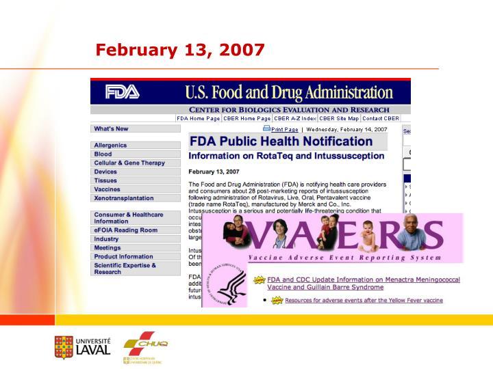 February 13, 2007