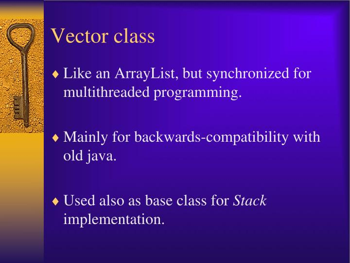 Vector class
