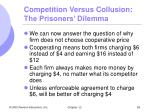 competition versus collusion the prisoners dilemma4