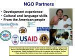 ngo partners