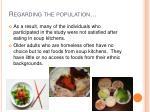 regarding the population1