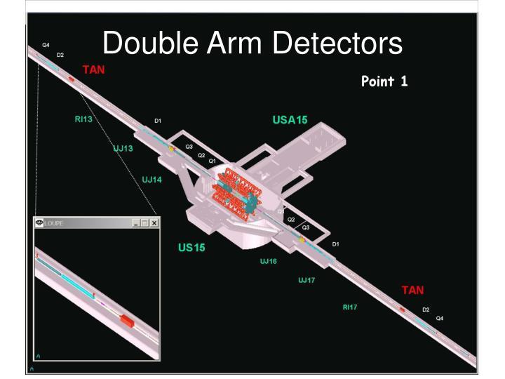 Double Arm Detectors