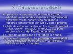 2 conciencia indelicada
