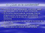 ii qu es la conciencia