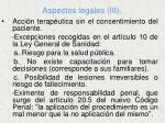 aspectos legales iii