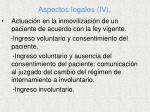 aspectos legales iv