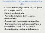 procedimiento de contenci n mec nica iii