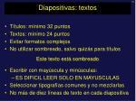 diapositivas textos1