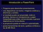 introducci n a powerpoint