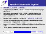 a generalidades del r gimen2