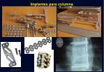 implantes para columna