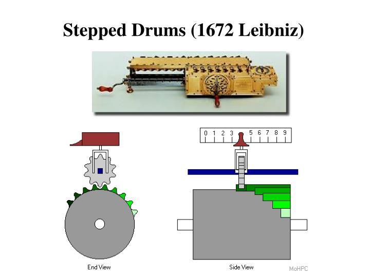 Stepped Drums (1672 Leibniz)