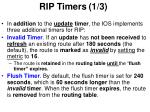 rip timers 1 3