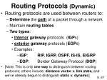 routing protocols dynamic