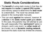 static route considerations1