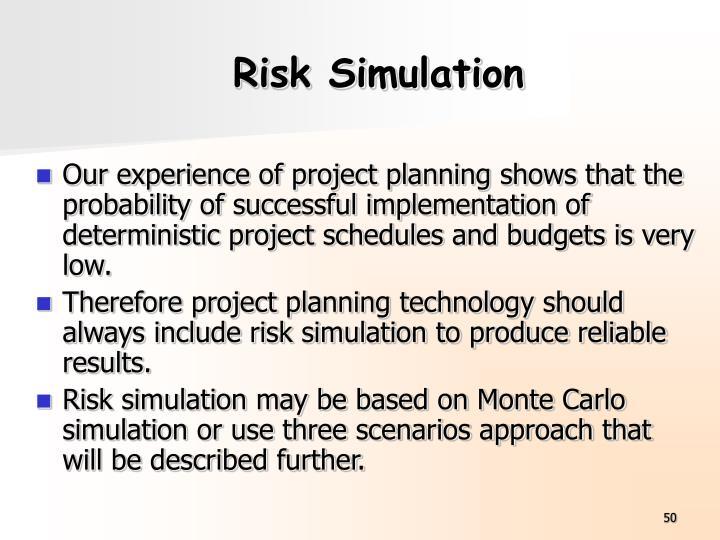 Risk Simulation