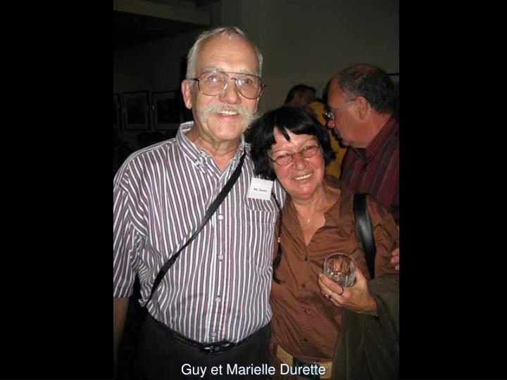Guy et Marielle Durette