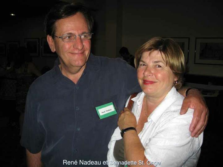 René Nadeau et