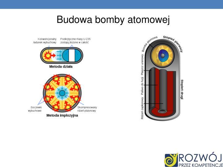 Budowa bomby atomowej