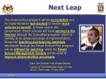 next leap
