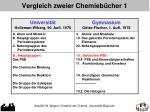 vergleich zweier chemieb cher 1