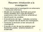 resumen introducci n a la investigaci n