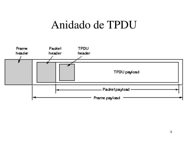 Anidado de TPDU