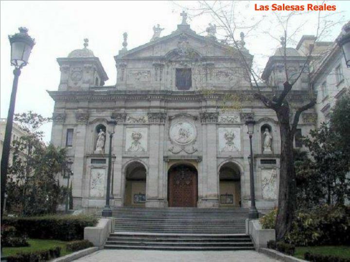 Las Salesas Reales