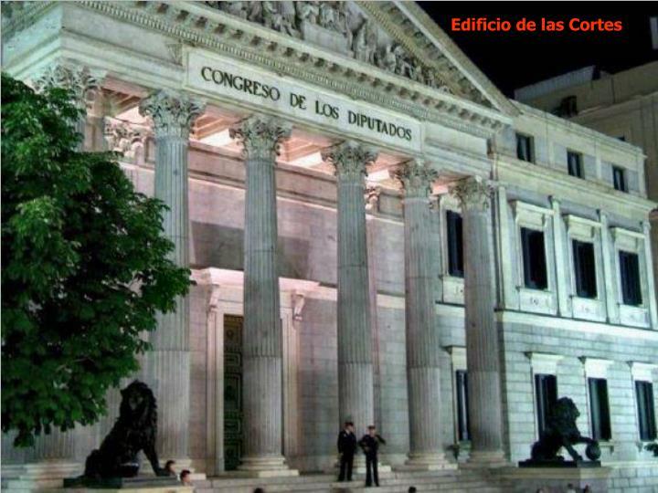Edificio de las Cortes