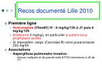 recos document lille 2010