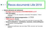 recos document lille 20101