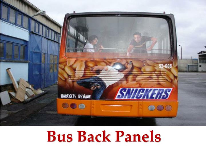 Bus Back Panels