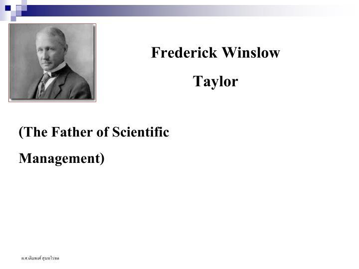 Frederick Winslow